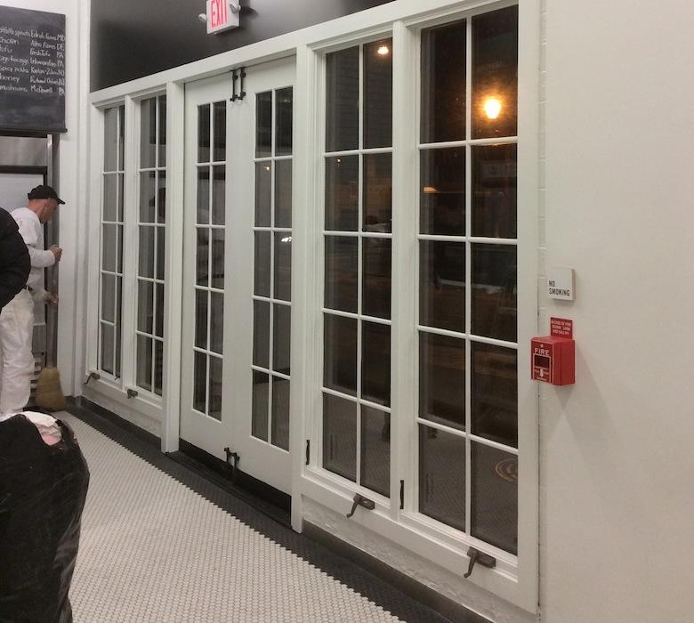 RestauRestaurant Painting - Beforerant Painting - Before